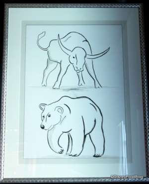 Bull and Bear Artwork