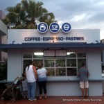 New Epcot Coffee Kiosk and Snack Stand Opens By Monorail