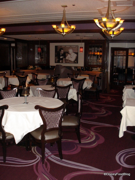 Steakhouse 55 at the Disneyland Hotel
