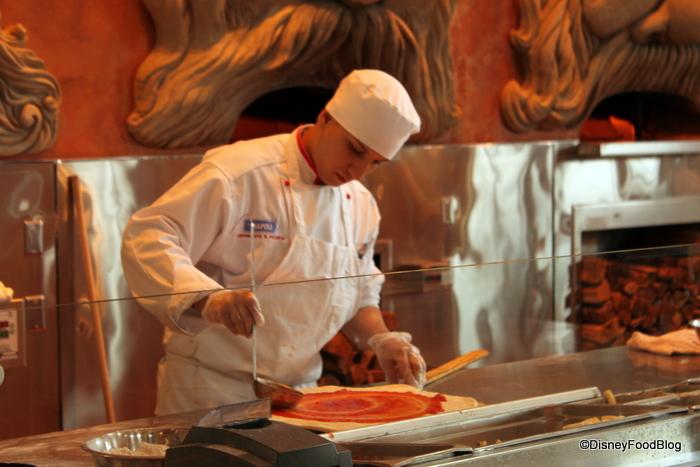 Via Napoli Pizza Chef