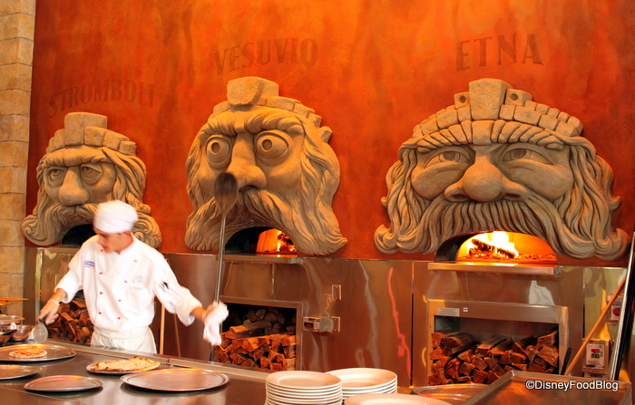 Via Napoli's Pizza Ovens