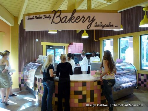 Babycakes NYC in Downtown Disney
