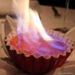Flaming Creme Brulee