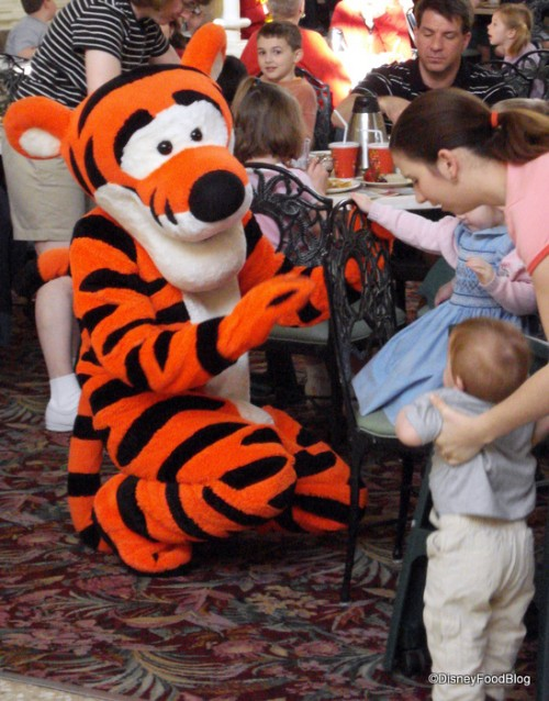Tigger Meets a New Friend at Crystal Palace