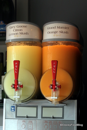 Slush Machines in Epcot's France Pavilion
