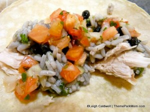 Leigh's Flash of Brilliance Self-Made Chicken Taco