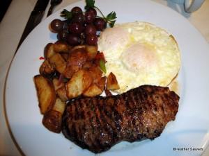 New York Steak and Eggs