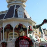 Main Street Ice Cream Parlor Christmas Decorations