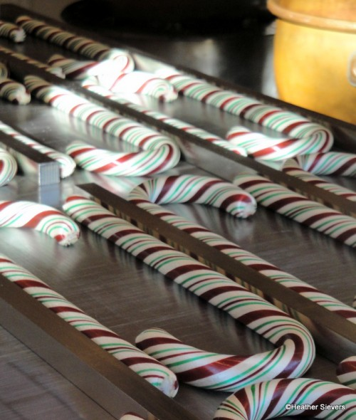 Hand-Made Candy Canes in Disneyland!