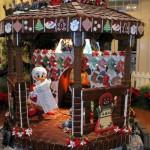 Walt Disney World Gingerbread Holiday Displays for 2011