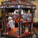 Walt Disney World Gingerbread Holiday Displays for 2011