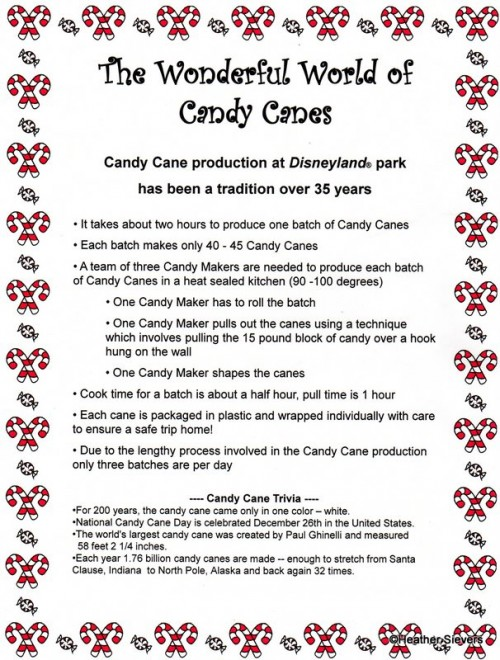 Candy Cane Info