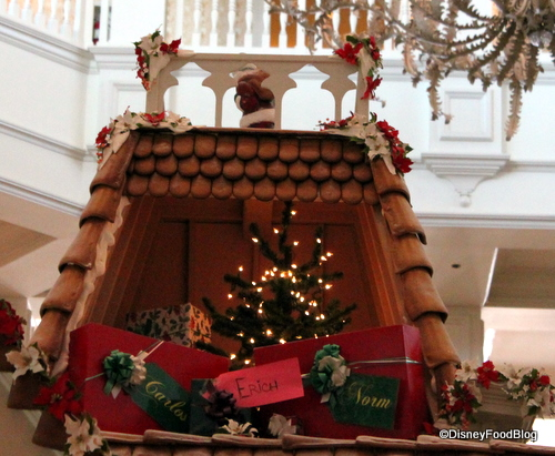 Chimney on Grand Floridian Gingerbread House