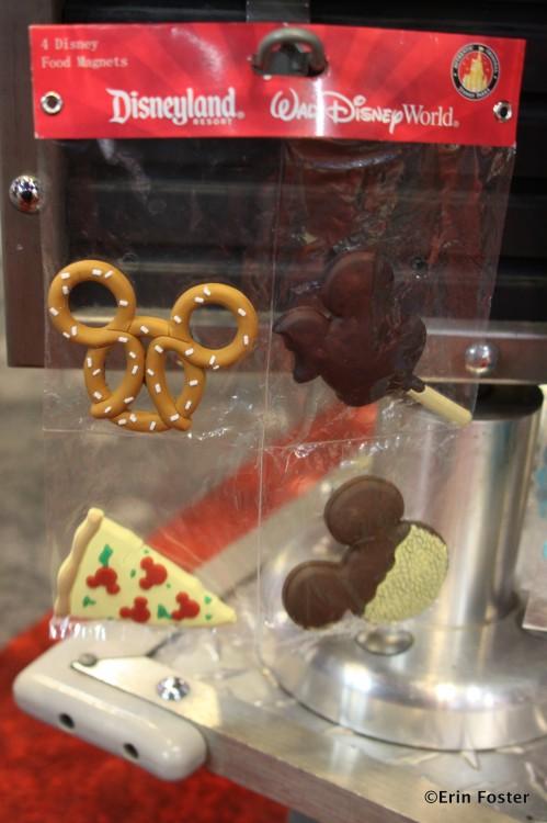 Magnets depicting Disney food