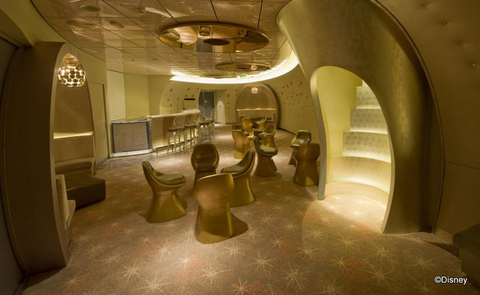 Be The Champagne At Pink On The Disney Dream The