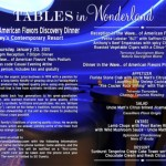 Tables in Wonderland January Event