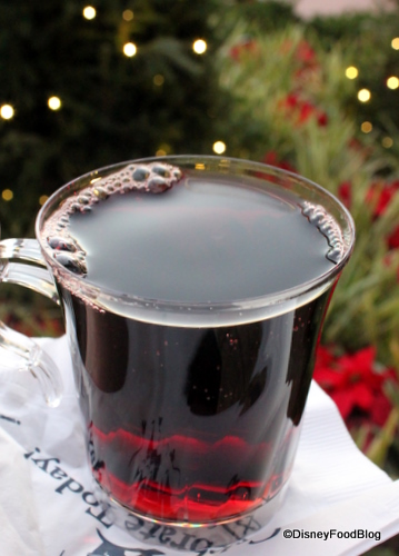Gluhwein in Epcot's Germany
