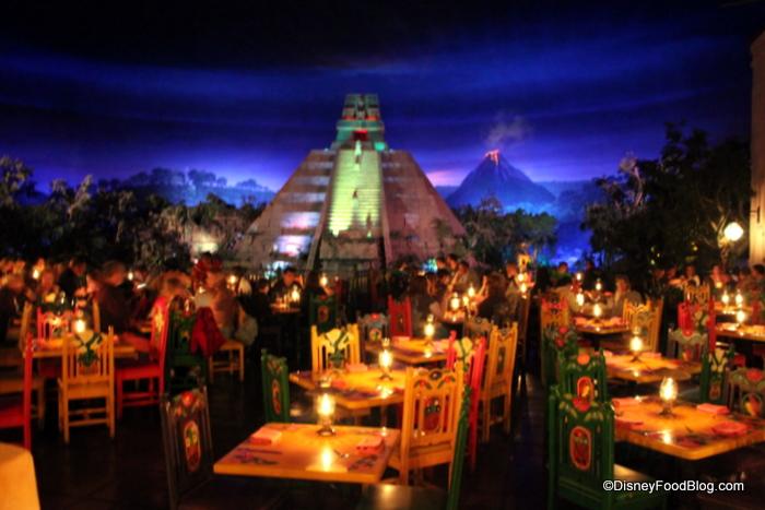 Mexico Epcot Restaurant Menu