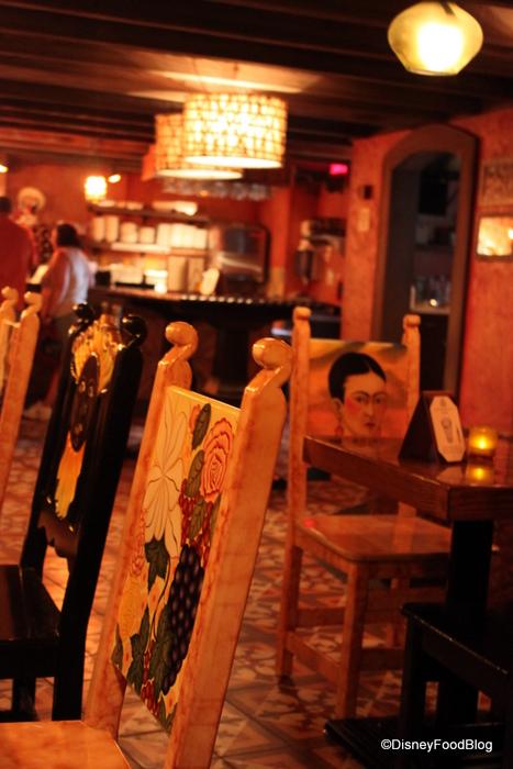Seating in La Cava del Tequila