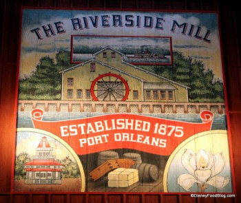 Port Orleans Riverside Mill food court