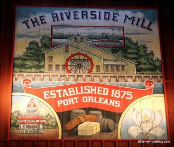 Port Orleans Riverside Mill food court