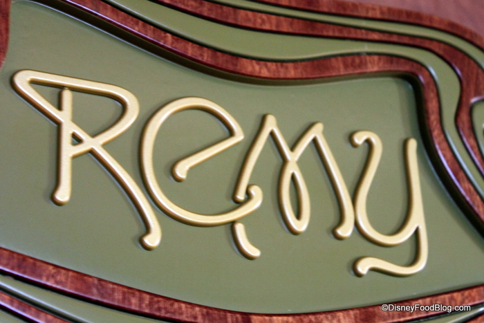Remy, one of the adults-only restaurants on the Disney Fantasy and Disney ...