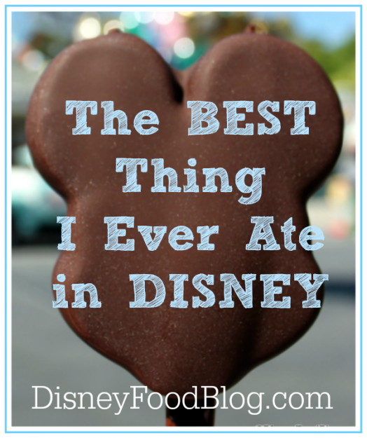 The Best Thing I Ever Ate in Walt Disney World