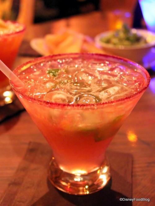 Jalapeno Margarita at La Cava del Tequila