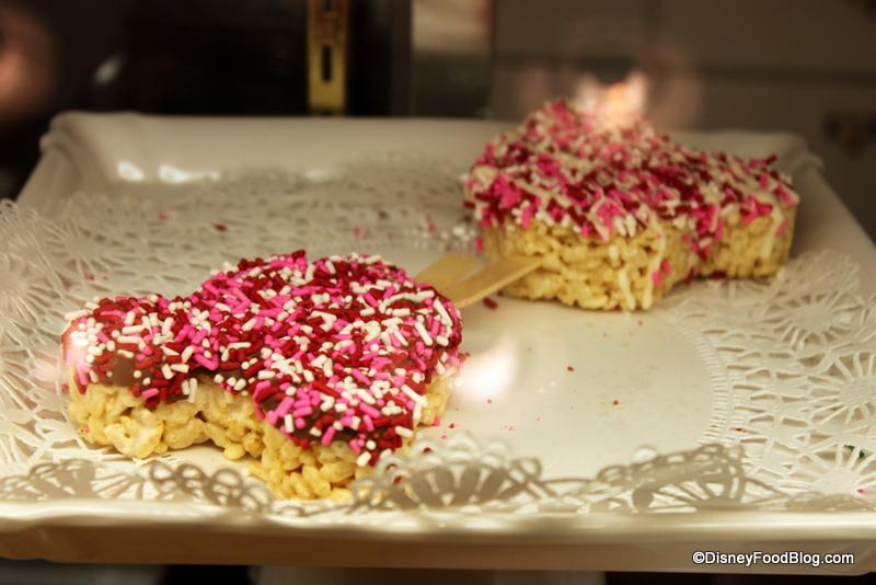 Milk Chocolate Valentine's Day Rice Krispie Treats