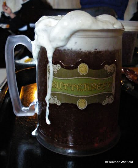 Butterbeer at Three Broomsticks