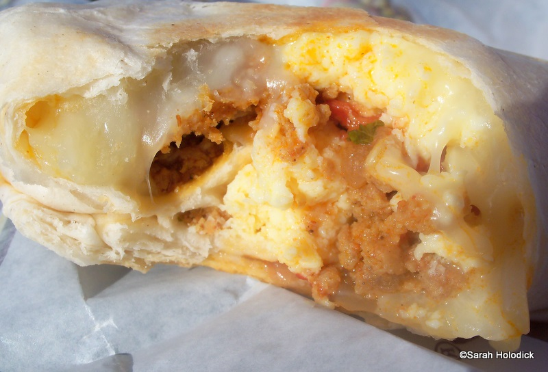 Burrito Filling: http://www.disneyfoodblog.com/2011/02/28/guest-review-breakfast-at-pollo-campero/