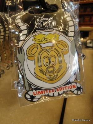 Limied Edition Trading Pins Include this Cute Mickey Waffle