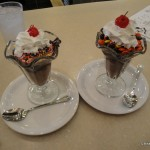 One Topping Sundaes: Sprinkles & Reese's Pieces