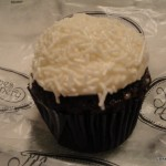 Chocolate with Vanilla Frosting