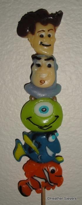 Pixar Gummy Kabob