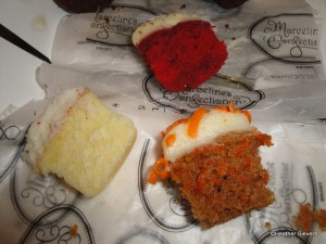 My Top Three Favorites: Carrot Cake, Coconut Vanilla & Red Velvet