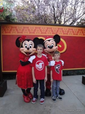 My Boys with Mickey & Minnie