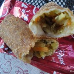 Egg Roll Cross Section
