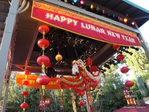Lunar New Year at Disney California Adventure