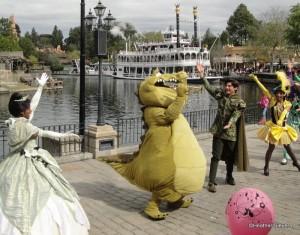 Princess Tiana's Mardi Gras Celebration