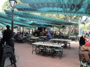 French Market Outdoor Seating