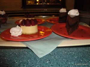 Cheesecake and Chocolate Cake