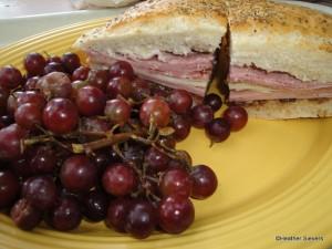Muffaletta Po Boy Sandwich