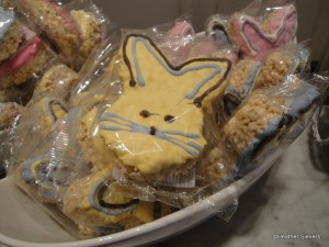 Bunny Rice Crispy Treats