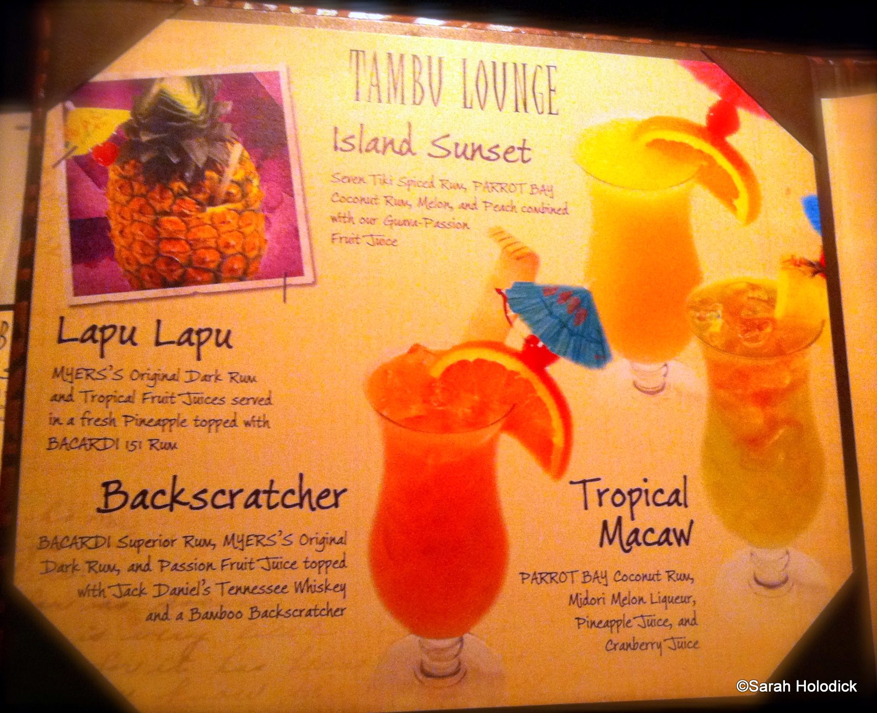Guest review tambu lounge and ohana the disney food blog for Food bar ohana