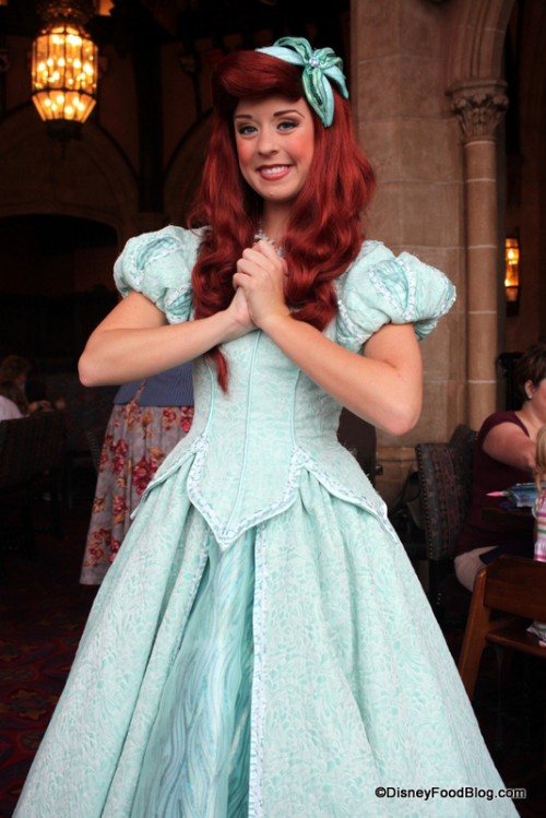 Dine with Ariel at Cinderella's Royal Table