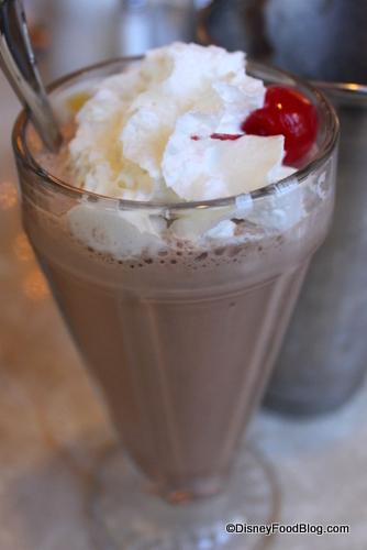 Plaza Restaurant Milkshake