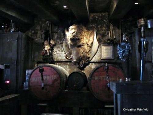 Inside Hog's Head