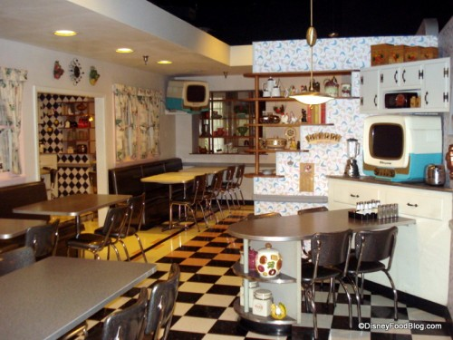 One of the 50s Prime Time Cafe Dining Rooms