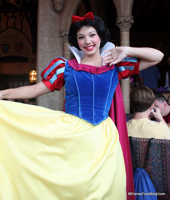 Snow White at Cinderella's Royal Table